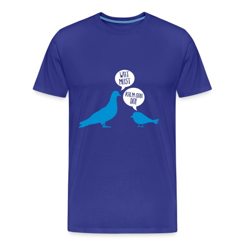 Wat must? - Mannen Premium T-shirt
