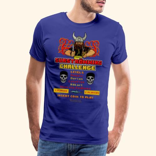 Surströmming Challenge Retro Videospiel - Männer Premium T-Shirt