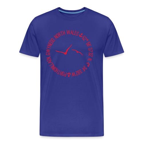 Porthdinllaen Circular - Men's Premium T-Shirt
