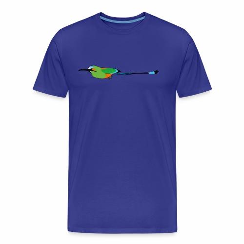 Turquoise-Browed Motmot (Torogoz/Guardabarranco) - Men's Premium T-Shirt