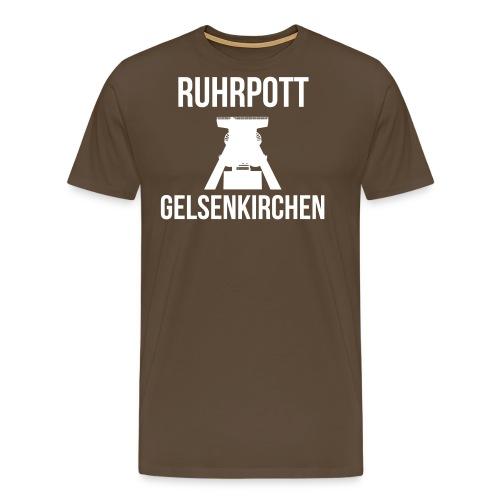 RUHRPOTT GELSENKIRCHEN - Deine Ruhrpott Stadt - Männer Premium T-Shirt