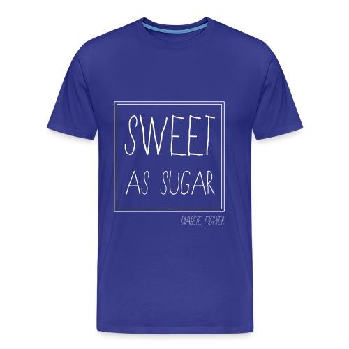 diabete fighter png - T-shirt Premium Homme