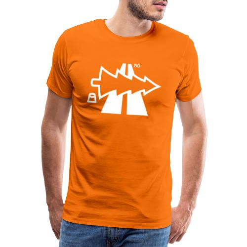 BD Oh Tannenbahn 2 - Männer Premium T-Shirt