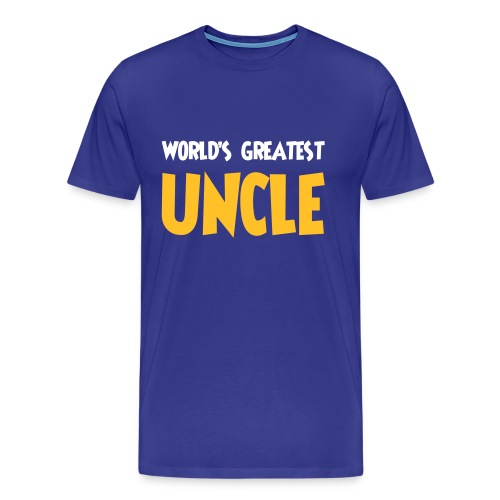 World's greatest uncle - Men's Premium T-Shirt