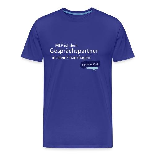 Grafik-Shirt-orange - Männer Premium T-Shirt