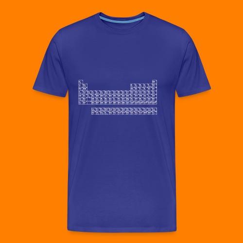 periodic white - Men's Premium T-Shirt