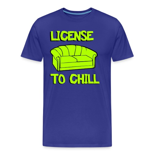License to chill - Mannen Premium T-shirt