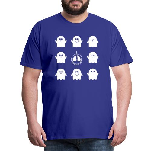 Der Klassiker. Die lustigen Schulgeister in blau - Männer Premium T-Shirt