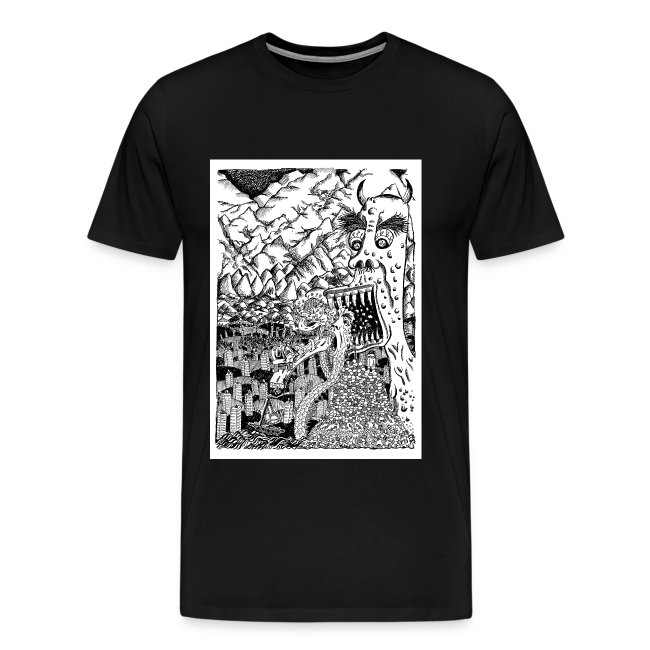 Sea Monsters T-Shirt by Backhouse