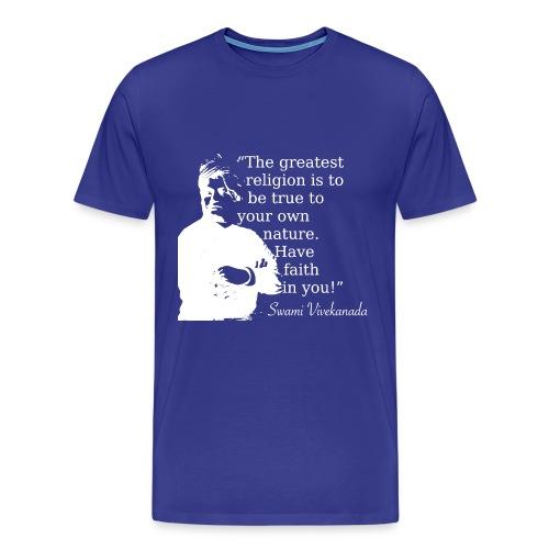 faith - Men's Premium T-Shirt