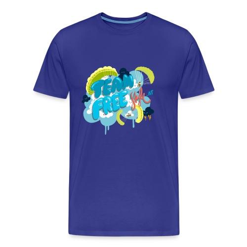 teamfreestyle2 png - Männer Premium T-Shirt