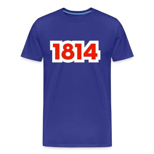 1814 - Premium T-skjorte for menn