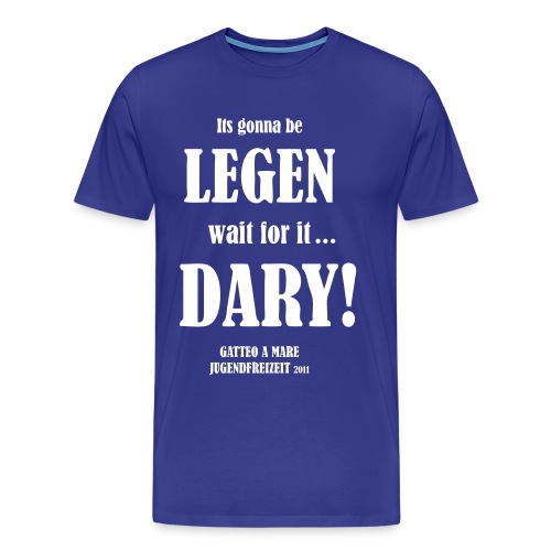 legendary bernardtristan - Männer Premium T-Shirt