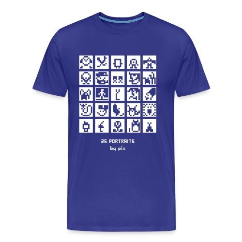 25 portraits - T-shirt Premium Homme