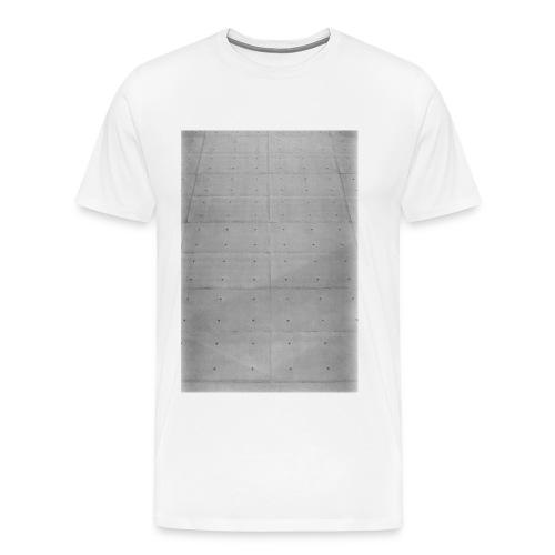 Beton - Männer Premium T-Shirt
