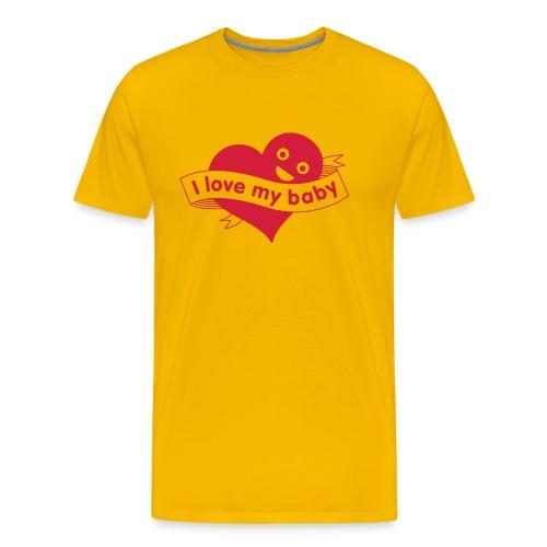 babylove - Mannen Premium T-shirt