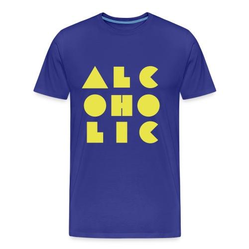 alcoholic - Men's Premium T-Shirt
