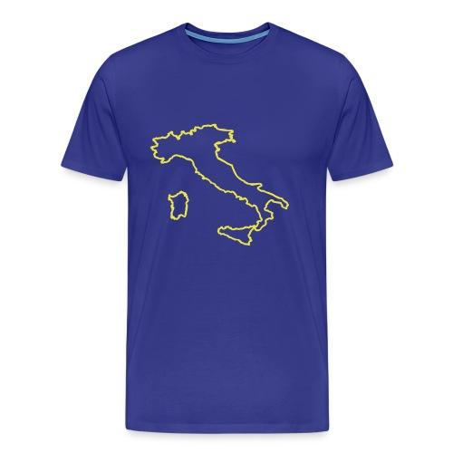 Italien Umriss - Männer Premium T-Shirt