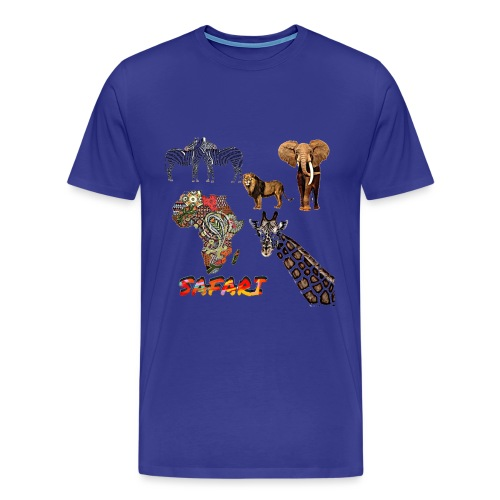 Safari africain - T-shirt Premium Homme