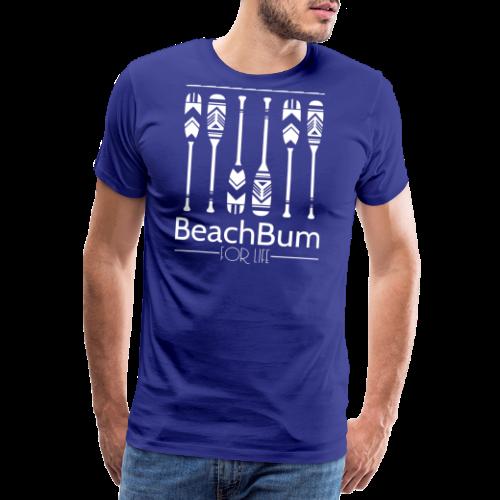 Beach Bum For Life White - Männer Premium T-Shirt