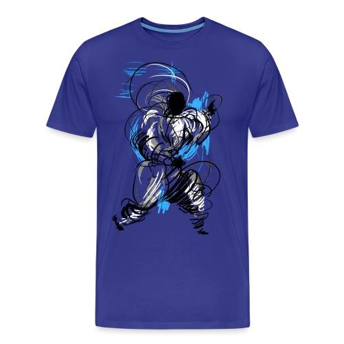 Kung Fu wizard - Men's Premium T-Shirt