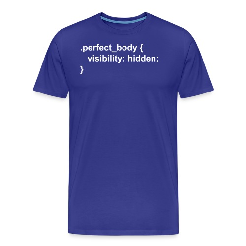 CSS Perfect Body - Männer Premium T-Shirt