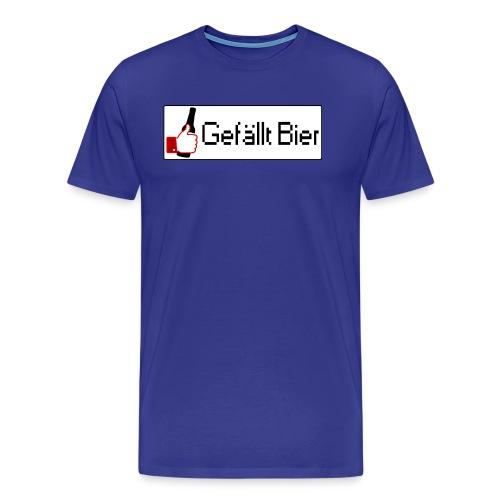 Gefällt Bier - Männer Premium T-Shirt