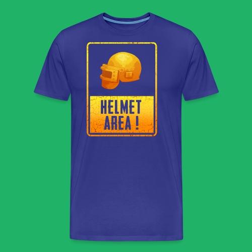 helmet area - Männer Premium T-Shirt