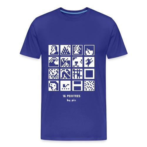 16 peintres - T-shirt Premium Homme