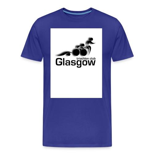 GTC new logo BW jpg - Men's Premium T-Shirt
