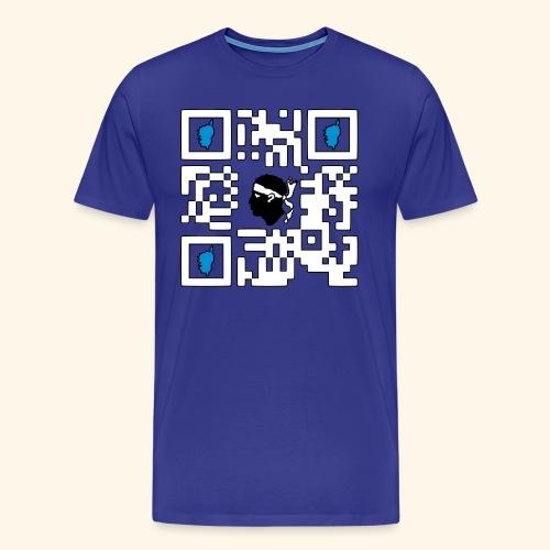 corsica qr code - T-shirt Premium Homme