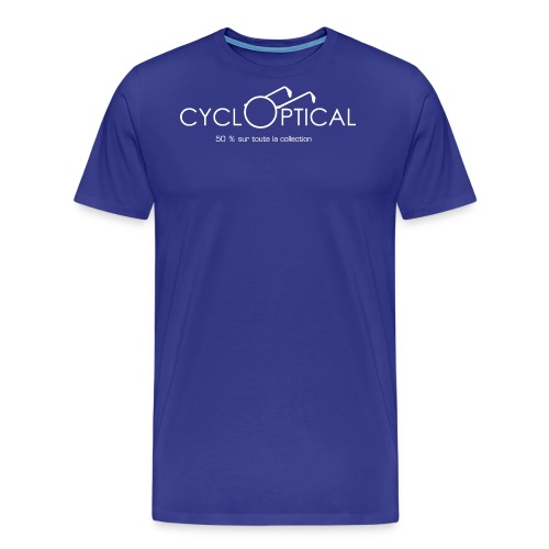 cycloptical png - T-shirt Premium Homme