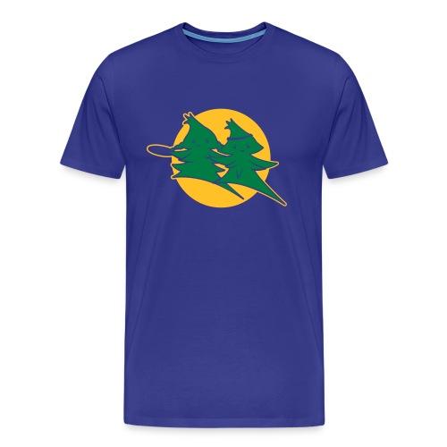 Forest Jump Logo 2farbig - Männer Premium T-Shirt