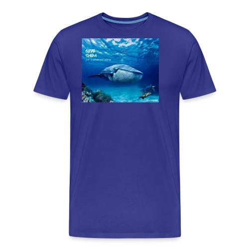 SAVE THEM fww sea - Camiseta premium hombre
