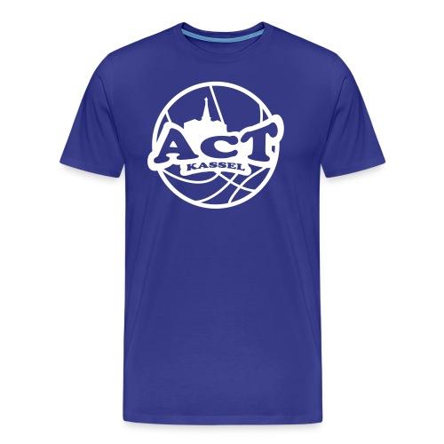 ACT Logo 2 0 - Männer Premium T-Shirt