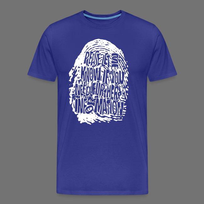 Fingerprint DNA (hvid)