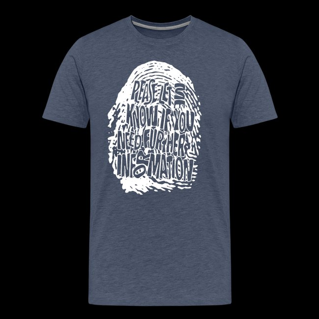 Fingerprint DNA (white)