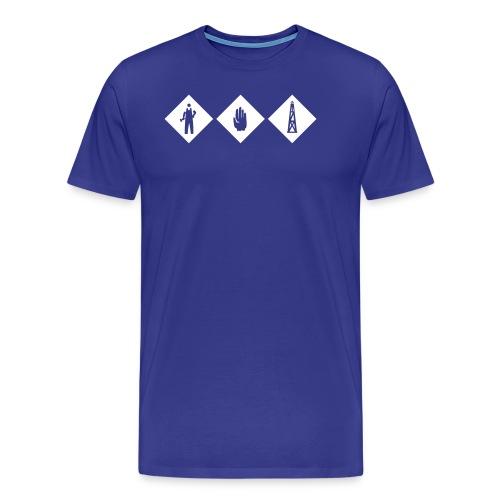 workhard - Männer Premium T-Shirt