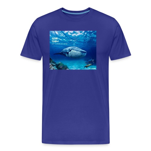 SAVE THEM fww sea - Camiseta premium hombre