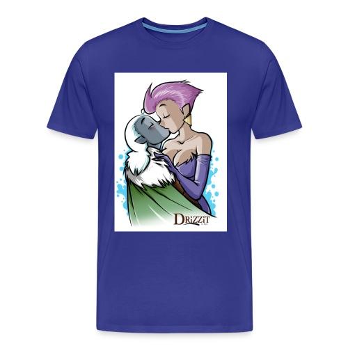 Drizzit Baba Kiss jpg - Maglietta Premium da uomo