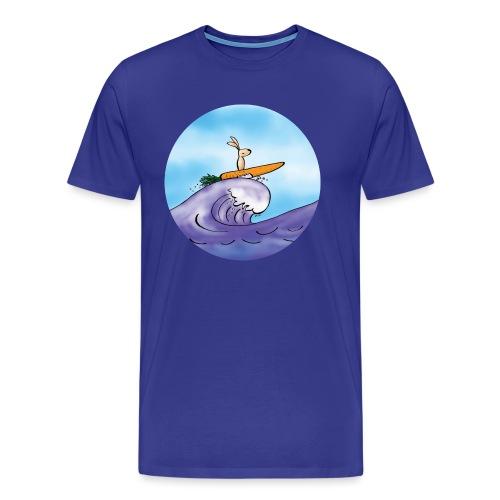 Morotssurfning - Premium-T-shirt herr