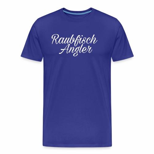 Raubfisch Angler - Männer Premium T-Shirt
