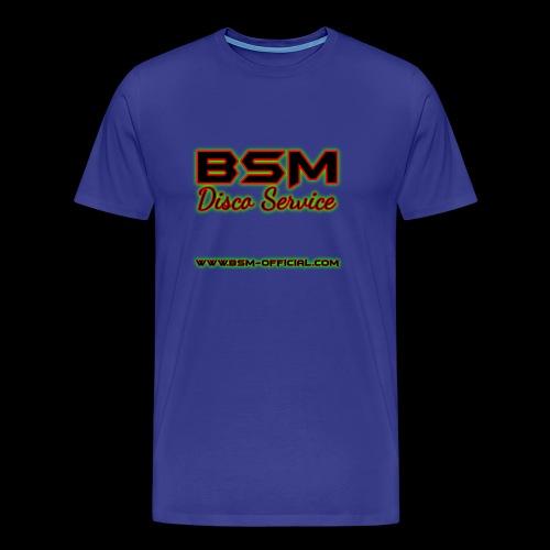 BSM Disco Service Logo - Men's Premium T-Shirt