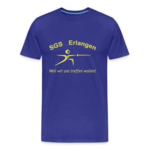 tshirt schriftzug trebuchet optimiert - Männer Premium T-Shirt
