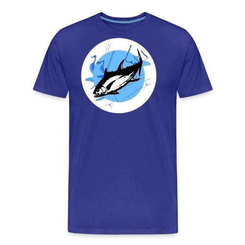Deep Mission Logo - Men's Premium T-Shirt