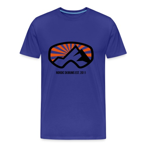 Nordic skibums sunrays - Men's Premium T-Shirt