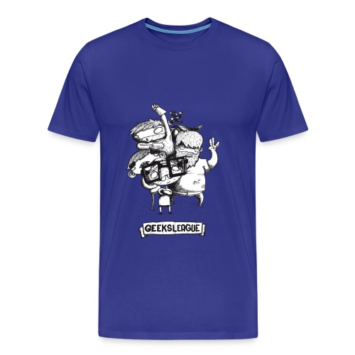 Illu Geeksleague - T-shirt Premium Homme