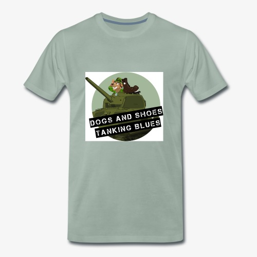 logo dogs nieuw - Mannen Premium T-shirt