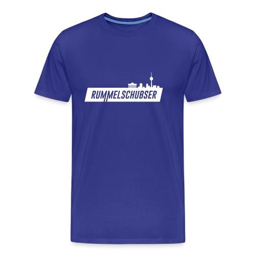 RS Balken weiß - Männer Premium T-Shirt