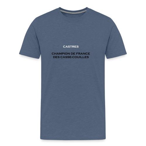 design castres - T-shirt Premium Homme